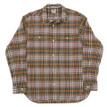 Lt. Work Shirt Yellow Madras
