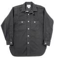 MFG Shirt V-Fit Black Rough Twill