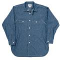 MFG Shirt V-Fit Blue Chambray