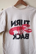 Mixta (ミクスタ) Printed Pocket Tee Lobster Oatmeal-1