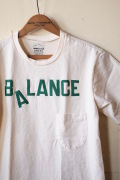 Mixta (ミクスタ) Printed Pocket Tee Balance Natural-1