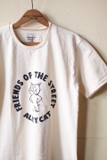 Mixta Printed Tee Alley Cat Natural-1