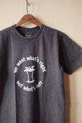 MIXTA(ミクスタ)Printed Tee APPLE Vintage Black-1