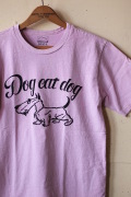 Mixta (ミクスタ) Printed Tee Dog Eat Dog Lilac-1