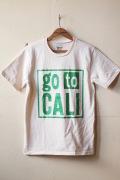 Mixta Printed Tee GO TO CALI Natural-1