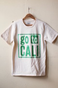 Mixta Printed Tee GO TO CALI Natural-1