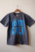 Mixta Printed Tee GO TO CALI Vintage Black-1