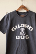 Mixta Printed Tee Guard Dog Vintage Black-1