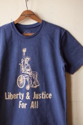 Mixta Printed Tee Liberty & Justice Night Ocean-1