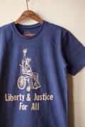 Mixta Printed Tee Liberty & Justice Night Ocean-1