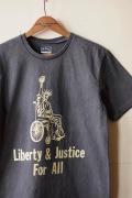 Mixta Printed Tee Liberty & Justice Vintage Black-1