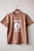 Mixta Printed Tee Tijuana 21 Camel-1