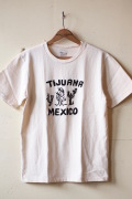 MIXTA(ミクスタ)Printed Tee Tijuana Mexico Natural-1