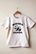 MIXTA Printed Tee WHODA PANDA Natural-1