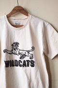 Mixta Printed Tee WILD CATS Natural-1
