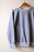 Mixta (ミクスタ) Sweat Shirts, Heather Grey-1