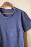 Mixta V-Neck Pocket T-Shirt, Night Ocean-1