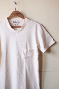 Mixta V-Neck Pocket Tee Natural-1