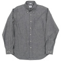 Modified BD Shirt Black Chambray