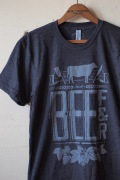 Monorail Studio T-Shirt Beef & Beer Heather Black-1
