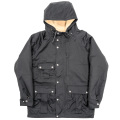 Mountain Pile Parka Black