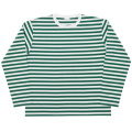 Narrow Border L/S White-Green