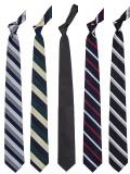 Narrow Silk Repp Tie