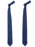Narrow Silk Tie Fresco Navy