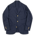 Navy Blazer Tropical