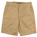 Officer Shorts Beige Chino