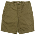 Officer Shorts Olive Chino