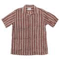 Open Collar Shirt Block Print
