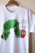 "Out of Print ""The Very Hungry Caterpillar""(はらぺこあおむし) White-1"