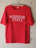 PINE TREE 七分 T-Shirt Missouri-Red