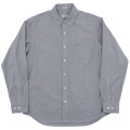 Pinhole Shirt Black Grey