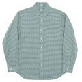 Pinhole Shirt Green Check