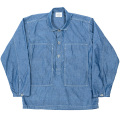 Pullover Shirt Ref US Army Chambray