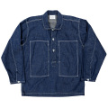Pullover Shirt Ref US Army Denim