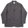 Relax JKT Black Linen