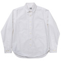 Round Collar Shirt D-OX White