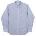Round Cutaway Shirt Stripe Poplin