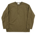 Sleeping Shirt Long Sleeve Khaki Twill