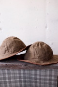 TCB jeans 30's Hat (US.Army Hat) Brown Herringbone-1