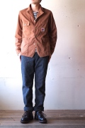 TCBjeans Chore JKT, Brown Duck-1