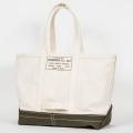 Tool Bag 2-tone L Long, Ecru-Khaki
