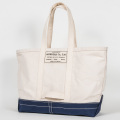Tool Bag 2-tone L Long, Ecru-Navy