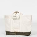 Tool Bag 2-tone L Short, Ecru-Khaki