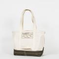 Tool Bag 2-tone M Long, Ecru-Khaki