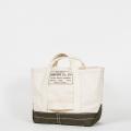 Tool Bag 2-tone M Short, Ecru-Khaki