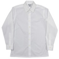 Vendome Shirt White Poplin Thomas Mason